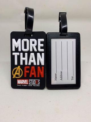 🚚 Marvel Fan Luggage tag Avengers Endgame