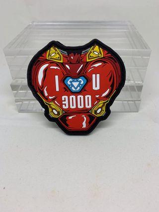 Marvel Avengers I love you 3000 Morale Patch