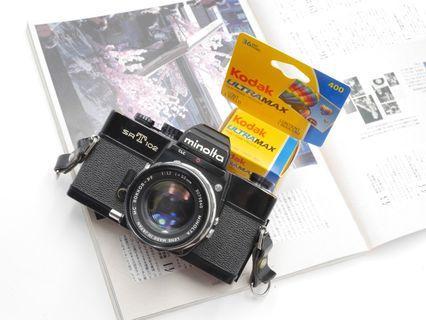 [FILM TESTED] *Rare* Minolta SRT 102 Film SLR + 50mm F1.7