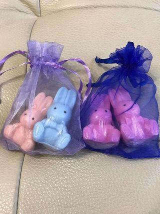 🚚 🐰出清🐰 婚禮小雜物~銅板價 情侶兔兔🐰肥皂