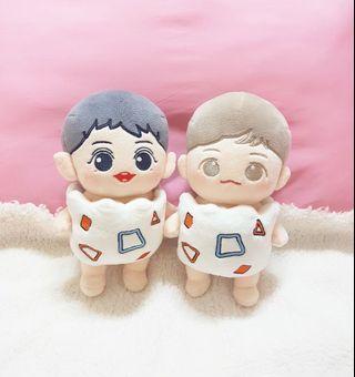 Exo & BTS Togepi 20CM Doll Clothes
