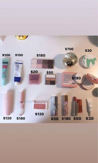 化妝品出清