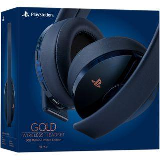 PS4 Gold 500 Million Limited Edition Headset