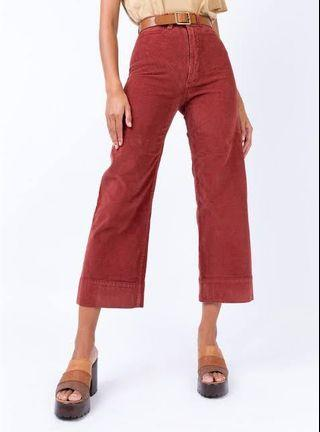 Thrills Belle Pant Blood Red
