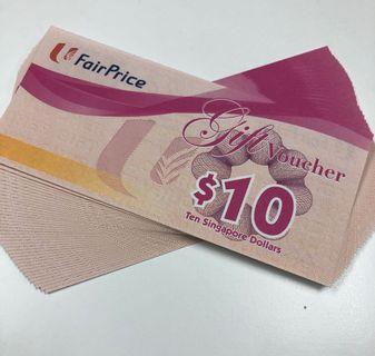 🚚 Fairprice groceries vouchers
