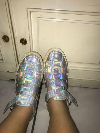 hologram shoes