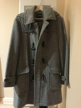 Wool Grey Duffle Coat