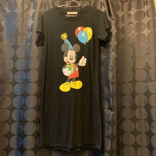 Mickey Mouse Tshirt Dress
