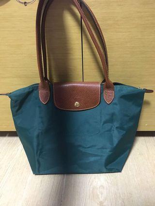 Longchamp 袋 green medium size 90%new shoulder bag