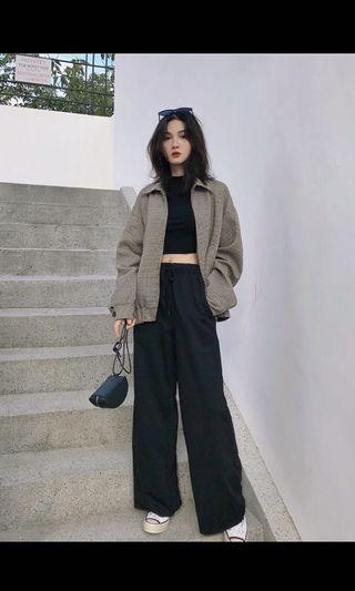 🚚 Korean Ulzzang Wide-leg casual pants