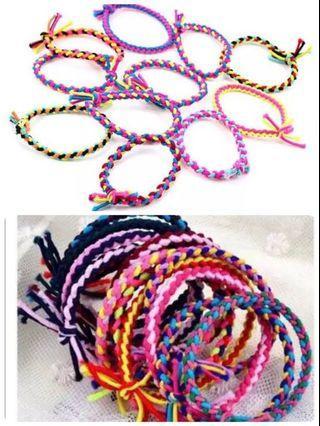 🚚 編織髮束/蝴蝶結髮束髮夾