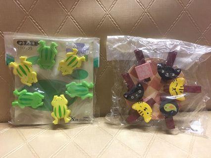 青蛙&小貓書夾🐸🐱