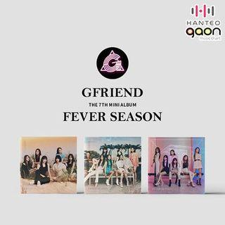 [PREORDER] GFRIEND - FEVER SEASON 7TH MINI ALBUM