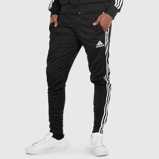 (4折)Adidas窄版無縮口/褲腳有拉鍊
