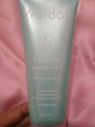 Preloved Wardah Essential Peeling Cream
