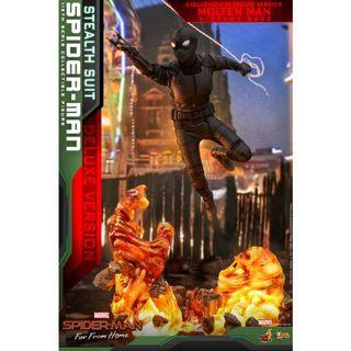 🚚 [PREORDER] Hot Toys Movie Masterpiece Series MMS541 Spider-Man Far From Home Spiderman Stealth Suit (Deluxe Version)
