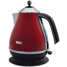 Delonghi Icona Red Electric Kettle
