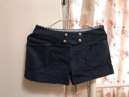 🚚 Knightsbridge學院風深藍色短褲