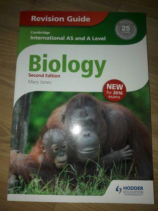 AS and A Level Biology revision guide