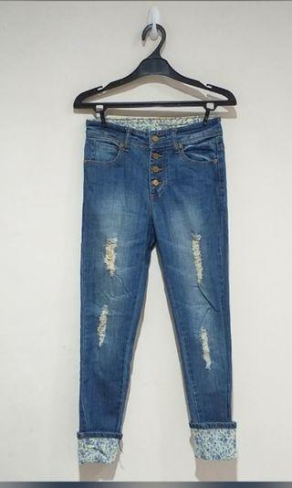 Torry burch Ripped Jeans
