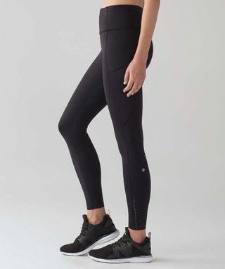 🚚 Lululemon Fast & Free Black Size 4 New With Tag Nulux