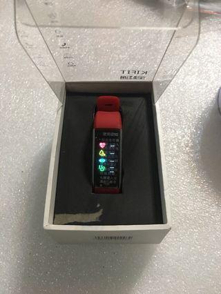 🚚 全程通彩屏防水心率智能運動血壓手环3女健康手環