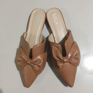 Brown Bow Mules