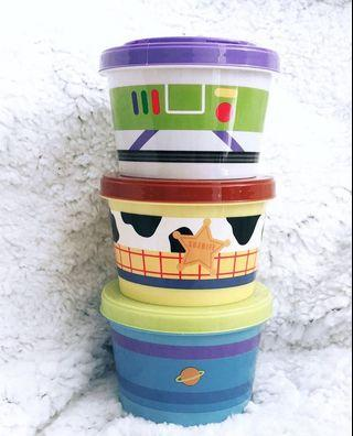 ✨ Toy Story - Icon Series Joint Container (3 pcs set) ✨