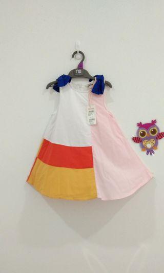 🆕3-4Y Poney Dress