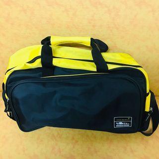 JOHNNIE WALKER 約翰走路 x 防潑水旅行袋 容量超大 可手提/肩背