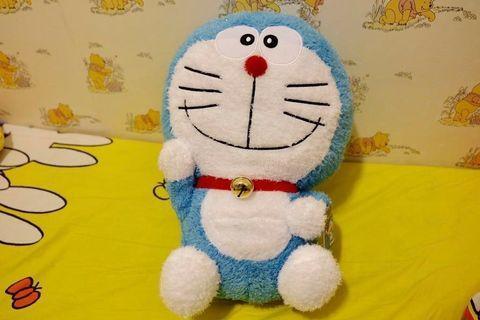 日版🇯🇵 43cm 超大多啦A夢公仔 Doraemon Namco Taito station