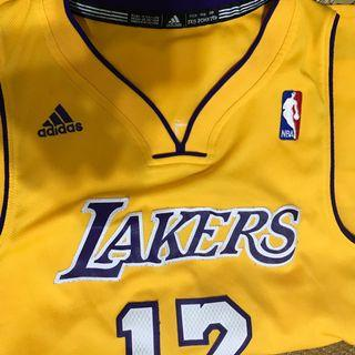 The lakers 湖人隊 球衣