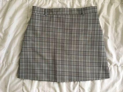 bn plaid skirt