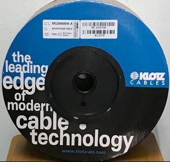 Kabel Microphone KLOTZ, MC2000