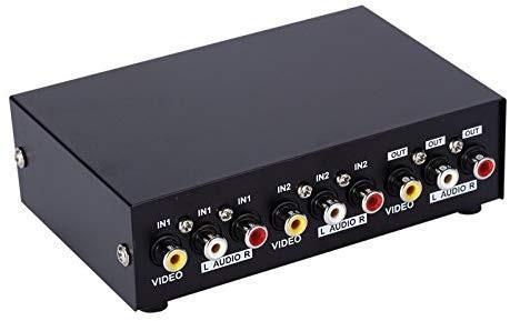 🚚 2-Way AV Switch