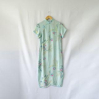 小草古著潮/vintage/中國風/復古旗袍