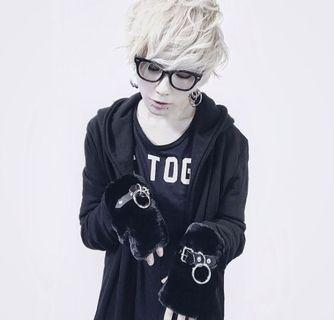Nyuly Gothic Punk Fur Arm Warmer / Hand Mitts