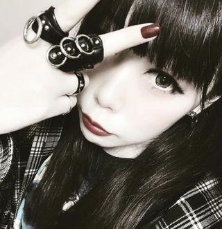 🚚 Brindle Leather Goth Punk O ring + Armor Ring