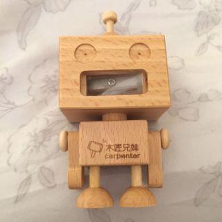 🚚 木匠兄妹 機器人削鉛筆機