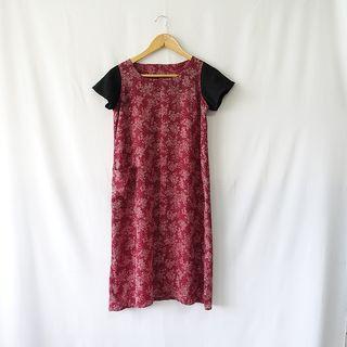 小草古著潮/vintage/花開富貴/復古洋裝