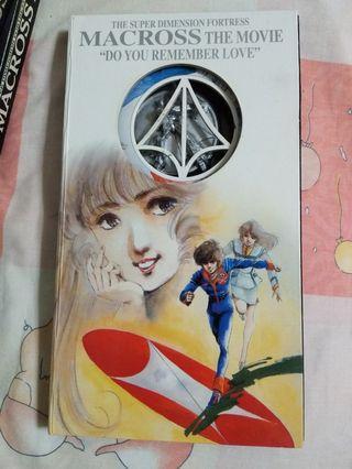經典收藏 超時空要塞 劇場版 2 VCD MACROSS DO YOU REMEMBER LOVE 2 VCD 中文字幕
