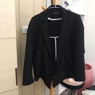 寬鬆飛鼠袖西裝外套 男友西裝外套 休閒正式兼宜 (附實穿照)