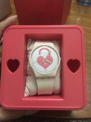 Swatch valentine's limited edition watch