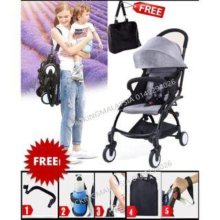 Baby time 2019 UPGRADE NEW WARMBABY cabin Travel Baby Stroller Aldo Compact babythrone babyyoya