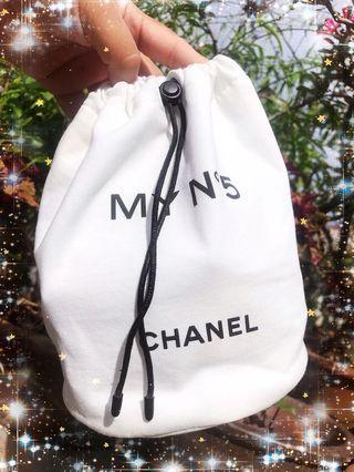 Chanel N5 Drawstring Pouch