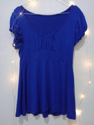 50% blue outwear