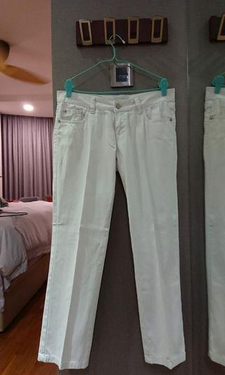 Motivi Jeans White Pants