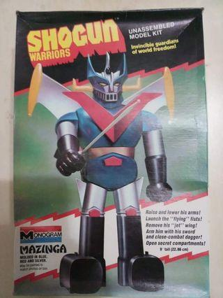 70年代鐵甲萬能俠美版模型  非 電磁俠 超合金 Popy