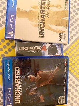 Ps4 uncharted 全集