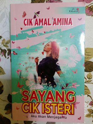 Novel Sayang Cik Isteri, Cik Amal Amina